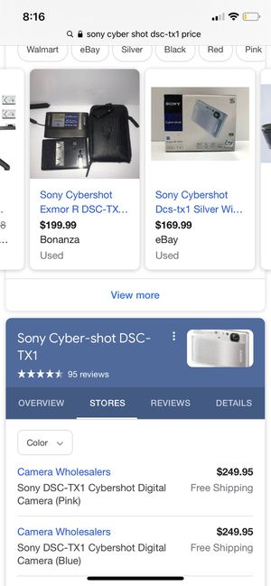 Sony cyber shot camera brand new for Sale in Chandler, AZ