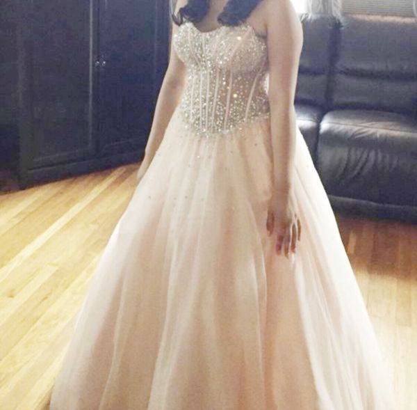 PROM QUINCEANERA SWEET 16 DRESS