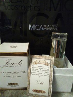 MICA beauty cosmetics jewels 24k exfoliating facial peel for Sale in Scottsdale, AZ