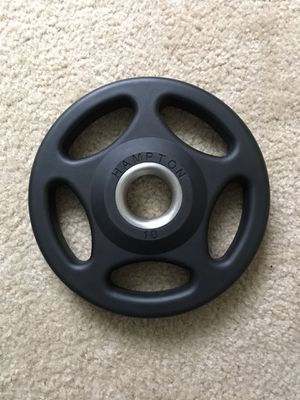 Weight Plate 10 lbs - Hampton Olympic Urethane Grip Plates for Sale in Queens, NY
