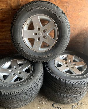 5 Brand new Jeep wheels and tires for Sale in Tinicum Township, PA