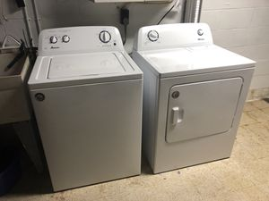Amana washer and electric dryer for Sale in Pittsburgh, PA