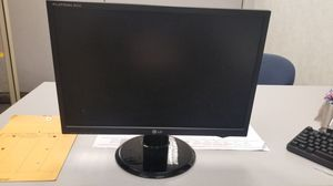 22 inch LG Flatron wide monitor for Sale in Pawtucket, RI