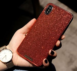 iPhone XR unlocked with red glitter case and charger for Sale in Adger, AL