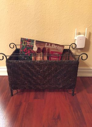 Magazine Holder. 2 available. $ 5 each for Sale in San Antonio, TX