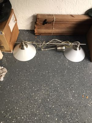 Lighting lamp fixture works great for Sale in Hollywood, FL