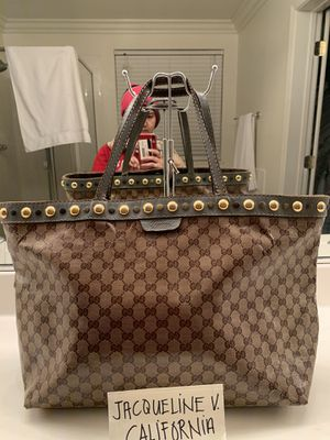 Authentic Gucci tote bag for Sale in Oakley, CA