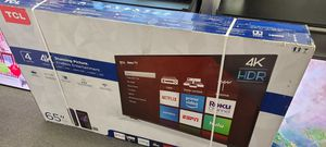 """65"""" TCL 4k UHD Smart HDR LED Tv for Sale in El Cajon, CA"""