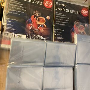 Penny Sleeves, Pokémon Sleeves, Sport Cards Sleeves for Sale in Brentwood, MD