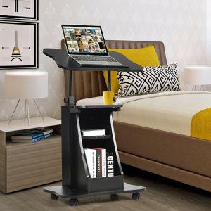 NEW Adjustable Laptop Desk Stand to Sit Work Table Home living bedroom Office Presentation for Sale in Las Vegas, NV