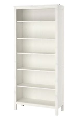WHITE PAINTED PINE BOOKCASE for Sale in Los Angeles, CA