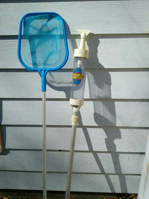 Paradise spa hot tub vacuum and skimmer net for Sale in Wantagh, NY