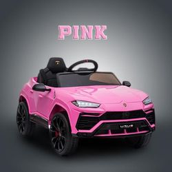 🎉!!BRAND NEW 12V LUXURY REMOTE CONTROL Electric Kid Ride On Car Power Wheels Lamborghini Urus with LED's, USB And FM Radio for Sale in Whittier,  CA