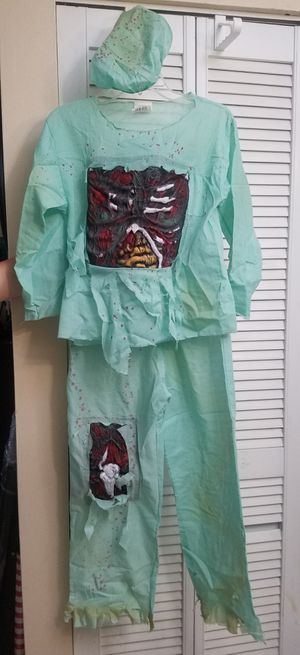 Zombie Surgeon Halloween Costume for Sale in Hialeah, FL