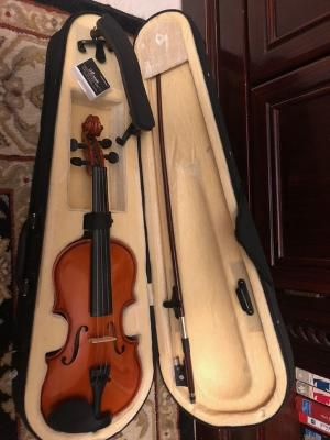 Cecilio 1/8 size violin with case, bow and rosin, good condition for Sale in Davie, FL