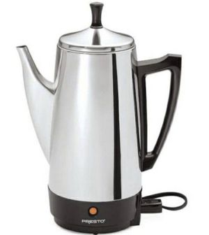 (NEW)Presto 12 cup stainless steel Coffee Maker(SHIPPING ONLY) for Sale in Orland Park, IL