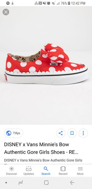 VANS minnie Mouse-BrandNew for Sale in Sanger, CA