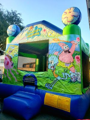 Spongebob Jumper/ Inflatable Play Structure for Sale in Glendora, CA