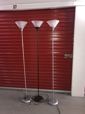 Floor lamps $30 for all for Sale in Austin, TX
