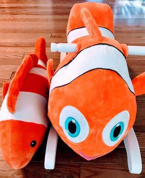 Finding Nemo - rocker & plush for Sale in Westborough, MA