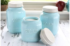 Mason jar canister set for Sale in Yuba City, CA