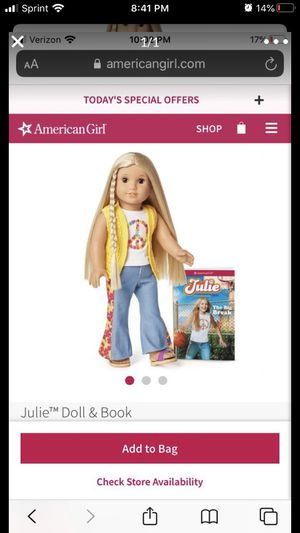 American Girl Doll brand new in box Julie for Sale in Mill Creek, WA