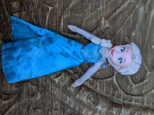 Pre-owned Disney Elsa Frozen / Frozen 2 stuffed animal plush toy doll for Sale in Sarasota, FL