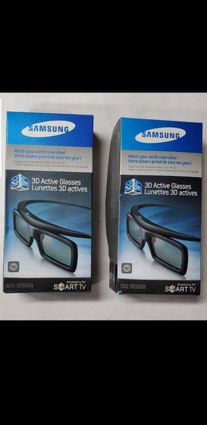 SAMSUNG 3D SUNGLASSES X 2 NEW $30 for Sale in Hickory Creek, TX