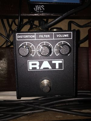 Rat Distortion Fuzz Guitar Pedal for Sale in Carson, CA
