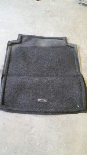 2013 VW PASSAT REAR TRUNK CARPET