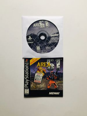 Area 51 PlayStation 1 ps1 for Sale in Long Beach, CA