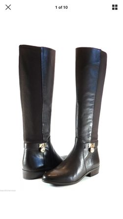 MK Hamilton Tall Leather Boot DK Chocolate 5.5 for Sale in Philadelphia,  PA