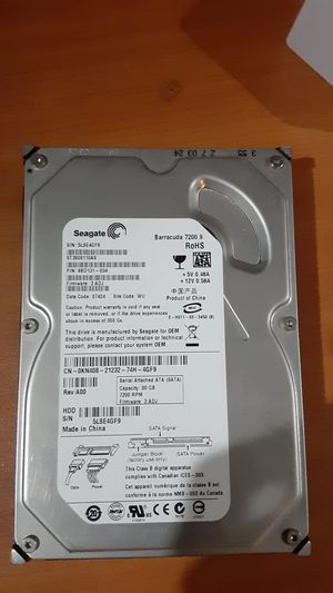 80 gb harddrive for Sale in Margate, FL
