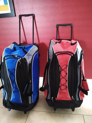 Two XL Rolling Duffle bags by Chao for Sale in Lakeland, FL