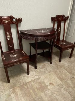 Oriental Table And Chairs for Sale in Beaverton,  OR
