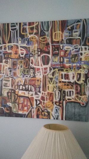 Abstract art on canvas for Sale in Milwaukie, OR