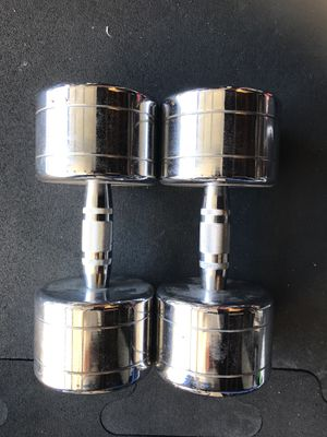 Dumbbells (2x50s) for $80 Firm!!! for Sale in Burbank, CA