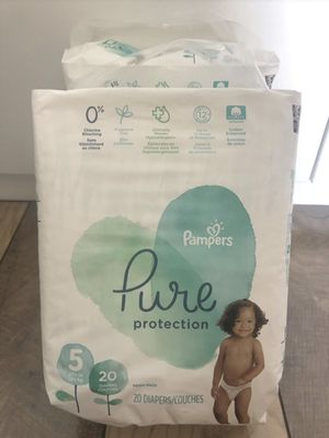 Pampers Size 5 $8 for Sale in North Miami Beach, FL
