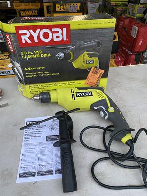 Ryobi 5/8 in VSR Hammer Drill for Sale in Ontario, CA