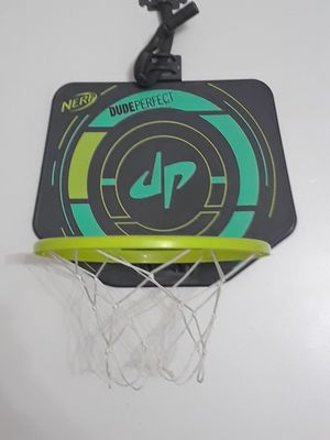 Mini basketball hoop+ basketball (dude perfect) for Sale in Jacksonville, FL