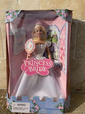 COLLECTIBLE BARBIE PRINCESS BRIDE DOLL (2001) for Sale in Davie, FL