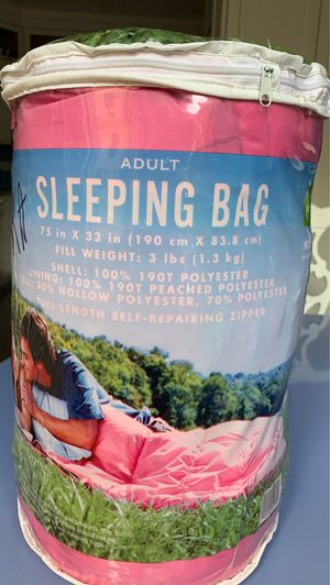 Adult Sleeping Bag for Sale in Hollywood, FL