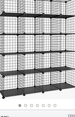 Large Metal Wire Storage Cubes for Sale in Lakewood,  CA