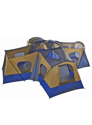 4 room tent fits up to 14 people hiking n camping shelter for Sale in Charlotte, NC