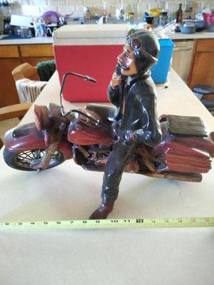 Rare! Large Vintage Harley Davidson statue for Sale in Portland, OR