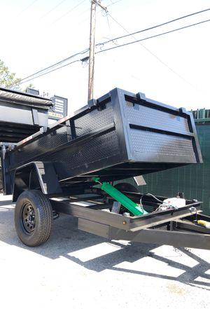 5x8x2 SA DUMP TRAILER NATM CERTIFIED for Sale in Los Angeles, CA