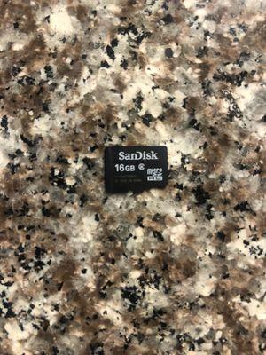 Micro sd card 16gb sandisk for Sale in Chula Vista, CA