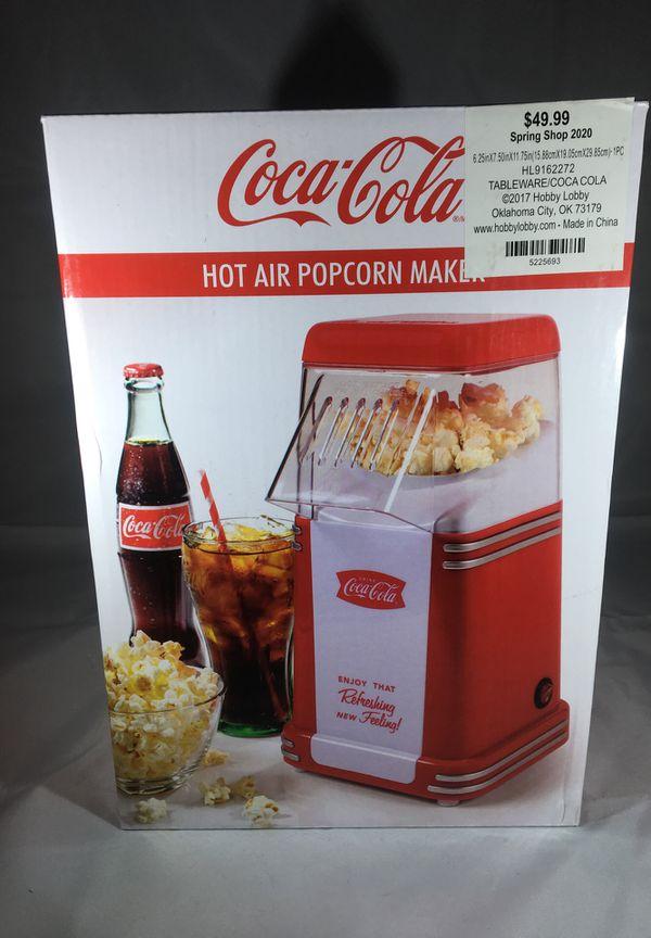 Coca Cola popcorn maker