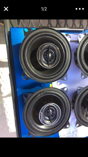 "Pioneer TS-G1045R Car Audio 4"" 2-Way G-Series Coaxial Speakers 210 Watts for Sale in Fresno, CA"
