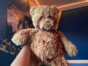 Custom scary teddy bear for Sale in Hesperia, CA